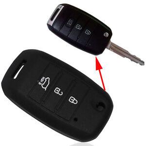 Custodia-silicone-NERO-guscio-protettivo-telecomando-auto-car-KIA-Sorento-KI1