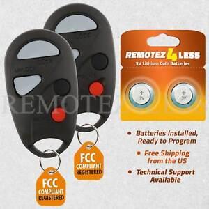 2 for 2000 2001 Infiniti I30 Keyless Entry Remote Car Key