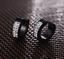 Men-039-s-Women-039-s-Unisex-Stainless-Steel-Rhinestone-Charm-Hoop-Huggie-Earrings-2PCS thumbnail 13