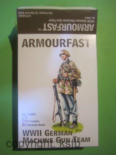 1:72 Armourfast HäT 99007 WKII Deutschland MG 42 34 Dreibein späte Soldaten MP44