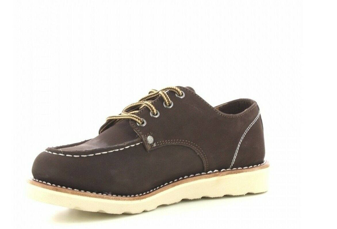 Dickies New Orleans Leather Boots New Brown Boots 1950's Rockabilly Outdoor