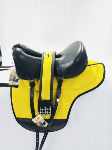 New Freeny Leather Endurance Saddle Set