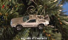 Back to the Future Time Machine '81 '82 DMC DeLorean 1/64 Christmas Ornament