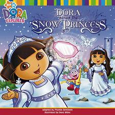 Dora Saves the Snow Princess (Dora the Explorer), Nickelodeon, New Book