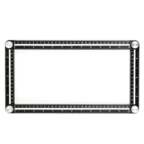 Protractor Multi Angle Modèle Règle Angle Outil de Mesure Angle Aluminium