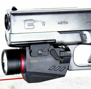 Combo-Pistol-LED-Flashlight-Red-Laser-Sight-Fit-20mm-Rail-Handgun-Airsoft-Rifle