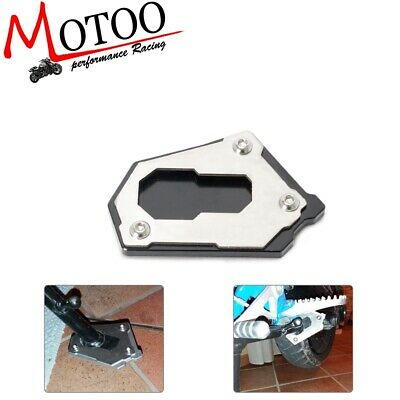 R1200GS 2014-2016, Black Motorcycle Accessories Side Stand Enlarger Kickstand Extension Plate for BMW R 1200 GS LC R1200GS R 1200GS ADV Adventure 2014-2016
