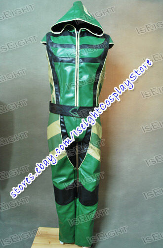 Green Arrow Cosplay Hoodie New Version Professional Costume Outfit Halloween New