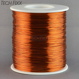 Magnet-Wire-21-Gauge-AWG-Enameled-Copper-395-Feet-Coil-Winding-1-Pound-200C