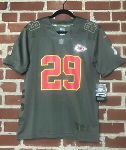 huge discount 21fda bd769 Details about Nike Youth NFL Salute To Service Kansas City Chiefs Eric  Berry Jersey #29 Size L