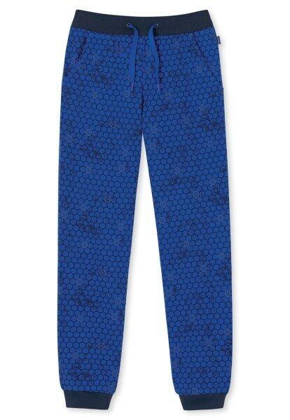 Gr 819 royal-blau 140 Schiesser Jungen Jerseypants 153868 in royal blau