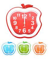 The Bitten Apple Wall Clock (c92111)