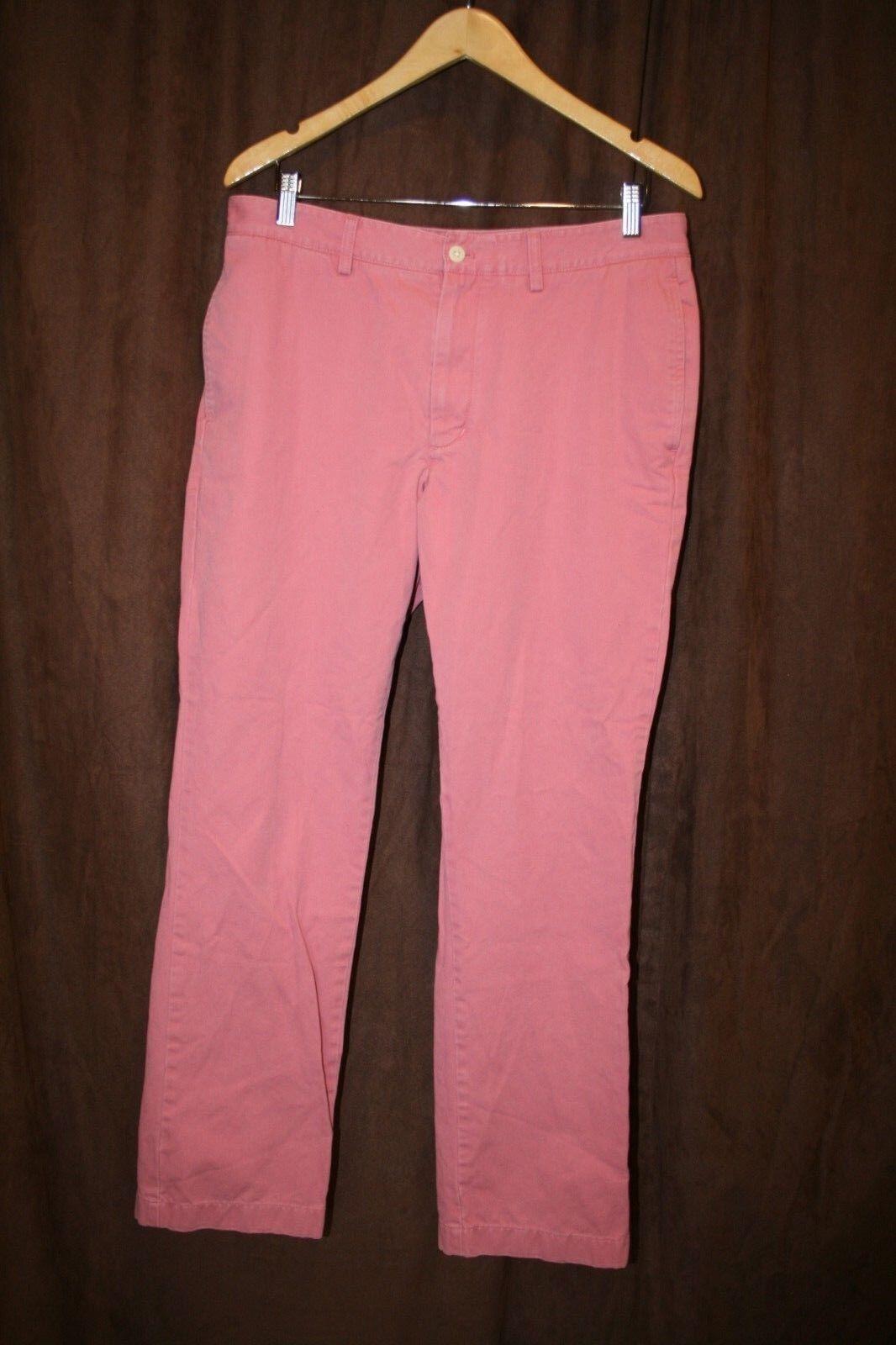 Vineyard Vines Shep & Ian Pink Men's Pants  32 x 30