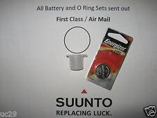 Energizer battery & O-ring kit for Suunto Vyper, Vytec, Gekko, Zoop, HelO2
