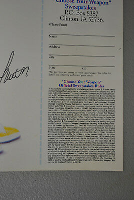 """1986 Larry Bird Magic Johnson 11.25/""""x18.75/"""" Converse Shoes Poster Ad Sweepstakes"""