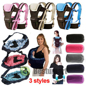 Newborn-Baby-Sling-Carrier-Ring-Wrap-Adjustable-Soft-Nursing-Pouch-Front-Infant