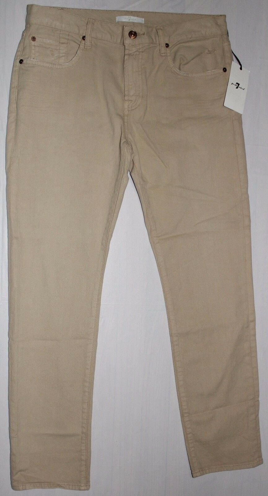 178 7 FOR ALL MANKIND DISTRESSED RELAXED SKINNY JEANS SZ 28