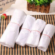 100x Design Plastic T Shirt Retail Shopping Supermarket Bags Handles Packaging