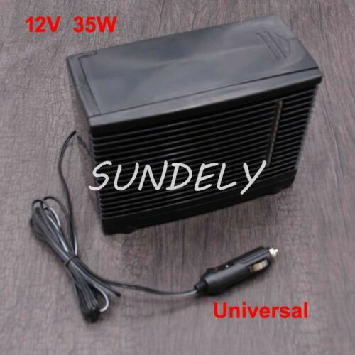 Black ABS 12V 35W Universal Car Cooler Cooling Fan Evaporative Air Conditioner