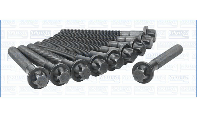 Genuine AJUSA OEM Replacement Cylinder Head Bolt Set [81028100]