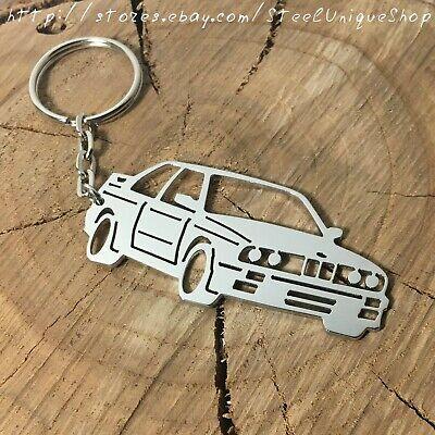 BMW E30 Stainless Steel Keychain