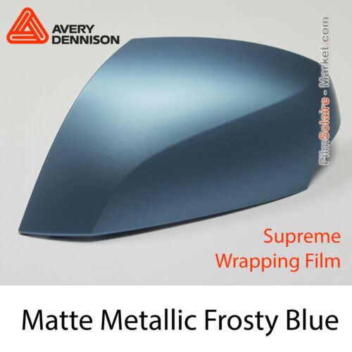 Matte Metallic Frosty Blue Avery Dennison Supreme Wrapping Film As9070001