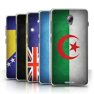 best cheap 5d55e 0e4c7 Details about STUFF4 Back Case/Cover/Skin for Lenovo Vibe P1/Flags