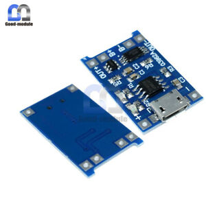 5PCS-5V-Micro-USB-1A-18650-Lithium-Battery-Charging-Board-Charger-Module-GM
