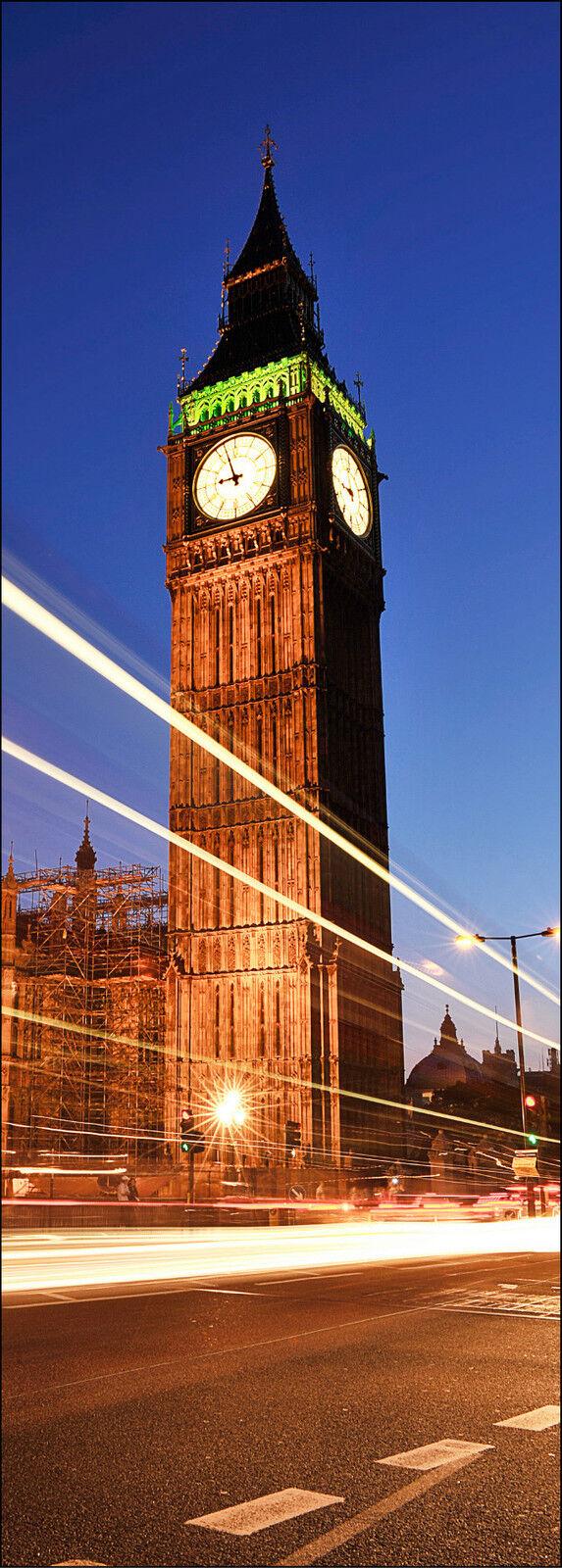 Adhesivo de Puerta Decoración Trampantojo Londres Ref 572 (Tallas a Elegir)