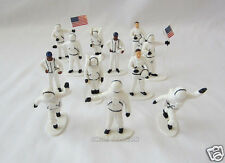 12 Astronaut Figures Kid Space Party Goody Loot Bag Toy Favor Cake Topper Supply
