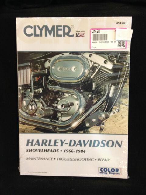 new clymer service manual harley fl fxe flh fxef fxb fxs fx shovelheads m420