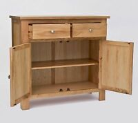 Sutton Solid Oak Furniture Small Living Dining Room Sideboard