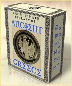 LIBRARY-of-ANCIENT-GREECE-251-Rare-Vintage-Books-2-DVDs-Grecian-History