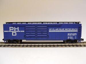 MINITRIX-Boxcar-ST-CLAIR-BLUE-WATER-ROUTE-33190