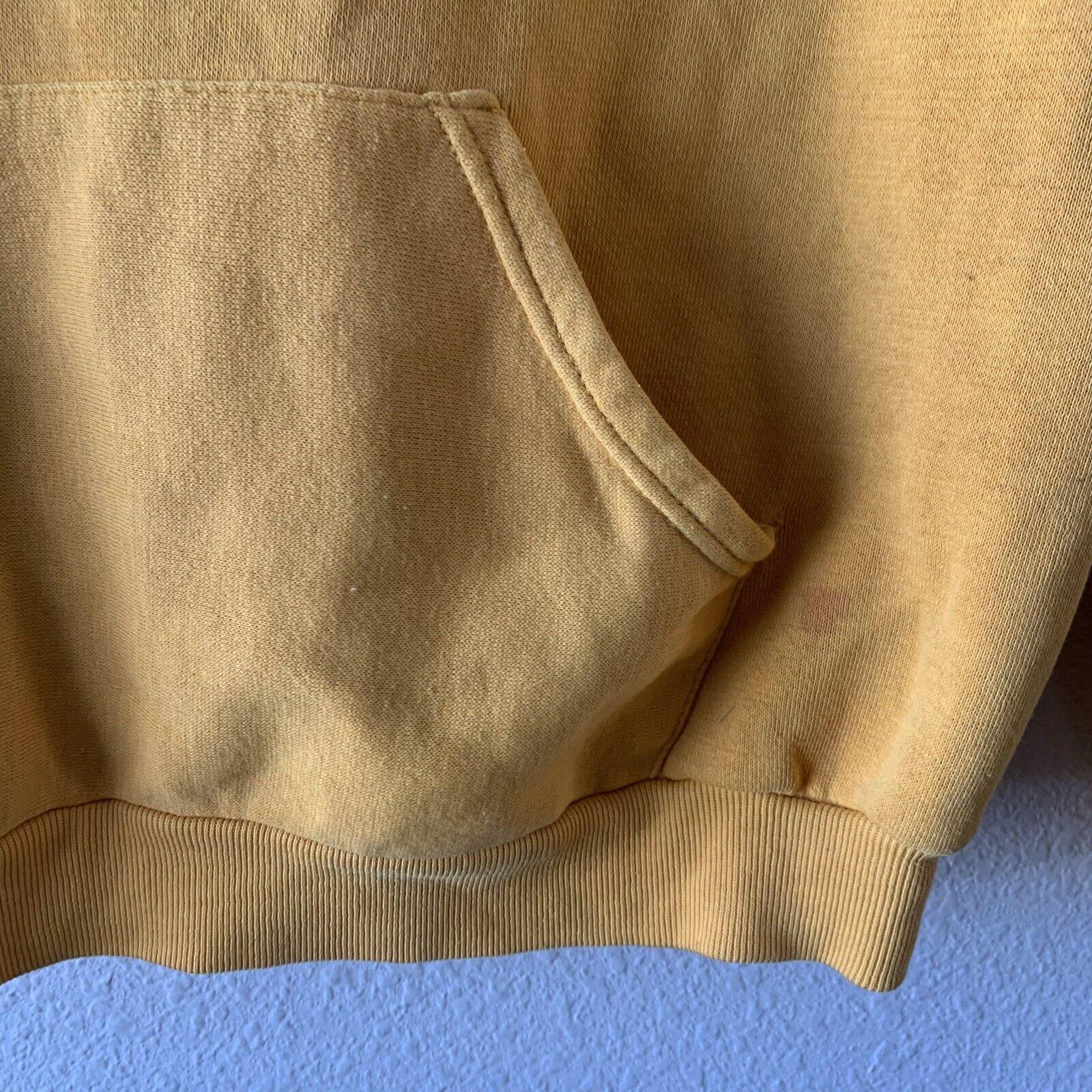 Vintage 70s Hoodie Sweatshirt Junior Olympics Rus… - image 4