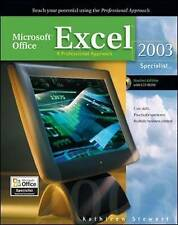 Microsoft Office Excel 2003: A Professional Approach, Specialist Student Editio