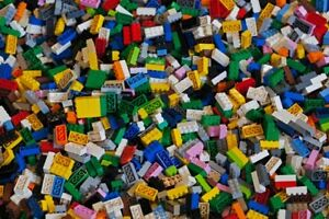 LEGO-Lot-of-200-Mixed-Bricks-in-Assorted-Colors-15-95-free-shipping