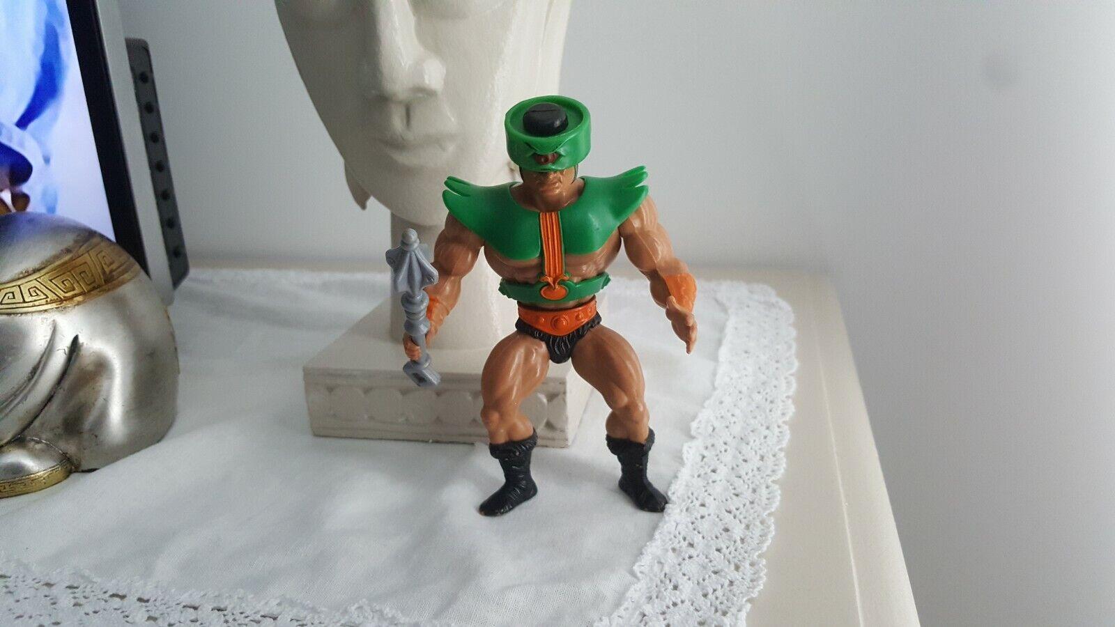 He man Vintage He-Man MOTU Figure - TRI-KLOPS (1981) good good good armor and weapon 0ef251