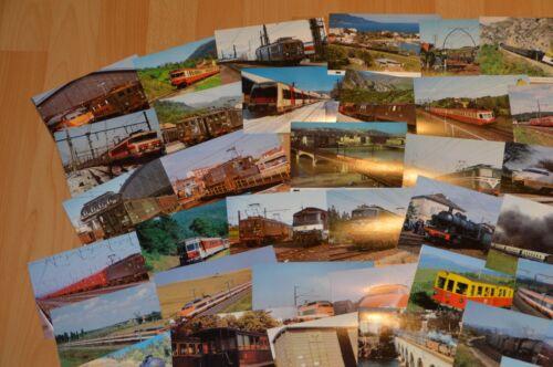 88 Ansichtskarten Eisenbahn Train Railway Frankreich !!!