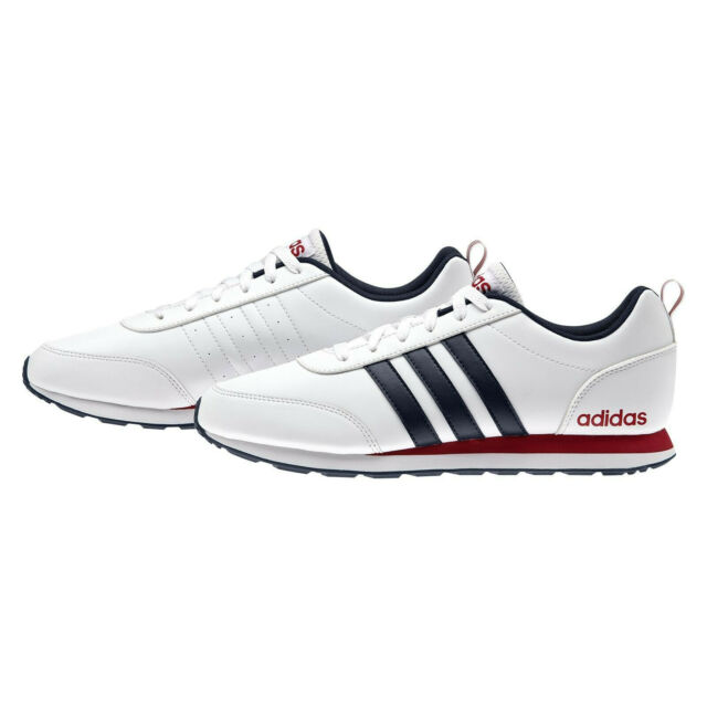 Adidas Neo V Run VS Mens Running Trainers Shoes White Size 10 US Brand New