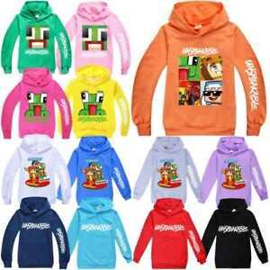 Kids Fashion Unspeakable Hoodie Jumper Top Hooded Boys Girl Sweatshirt Jacket