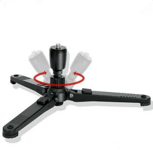 Universal-360-Grad-Drehende-Kamera-Monopod-Basis-3-8-034-Schraube-30kg-Maximale