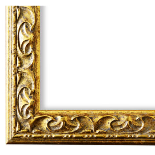 Bilderrahmen Gold Barock Retro Holz Mantova 3,1 NEU alle Größen