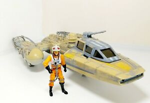 Star-Wars-Y-Wing-Fighter-Model-Toy-Vehicle-Ship-Hasbro-1999