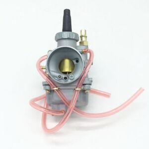 Details about 22mm Mikuni Carburetor for 2 Stroke Motorcycle Suzuki AX100  QJ100-M KW100-M Carb