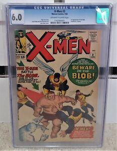X-Men-3-1964-CGC-6-0-1st-Appearance-of-the-Blob-Stan-Lee-amp-Jack-Kirby-KEY