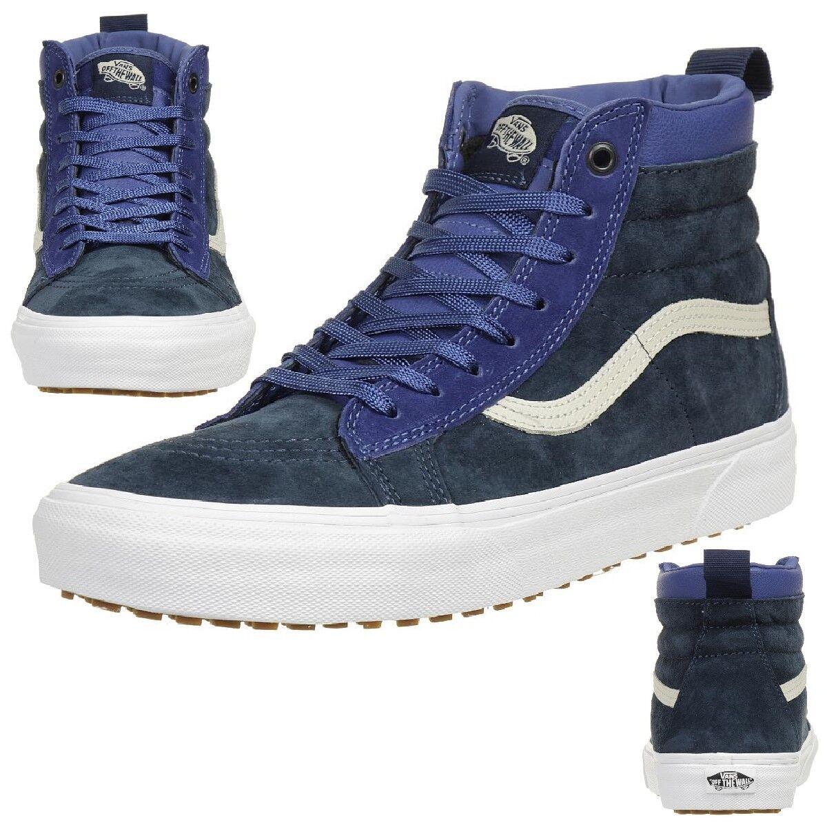 VANS Classic SK8-HI MTE Winter Turnschuhe Schuhe Leder VA33TXQWY blau