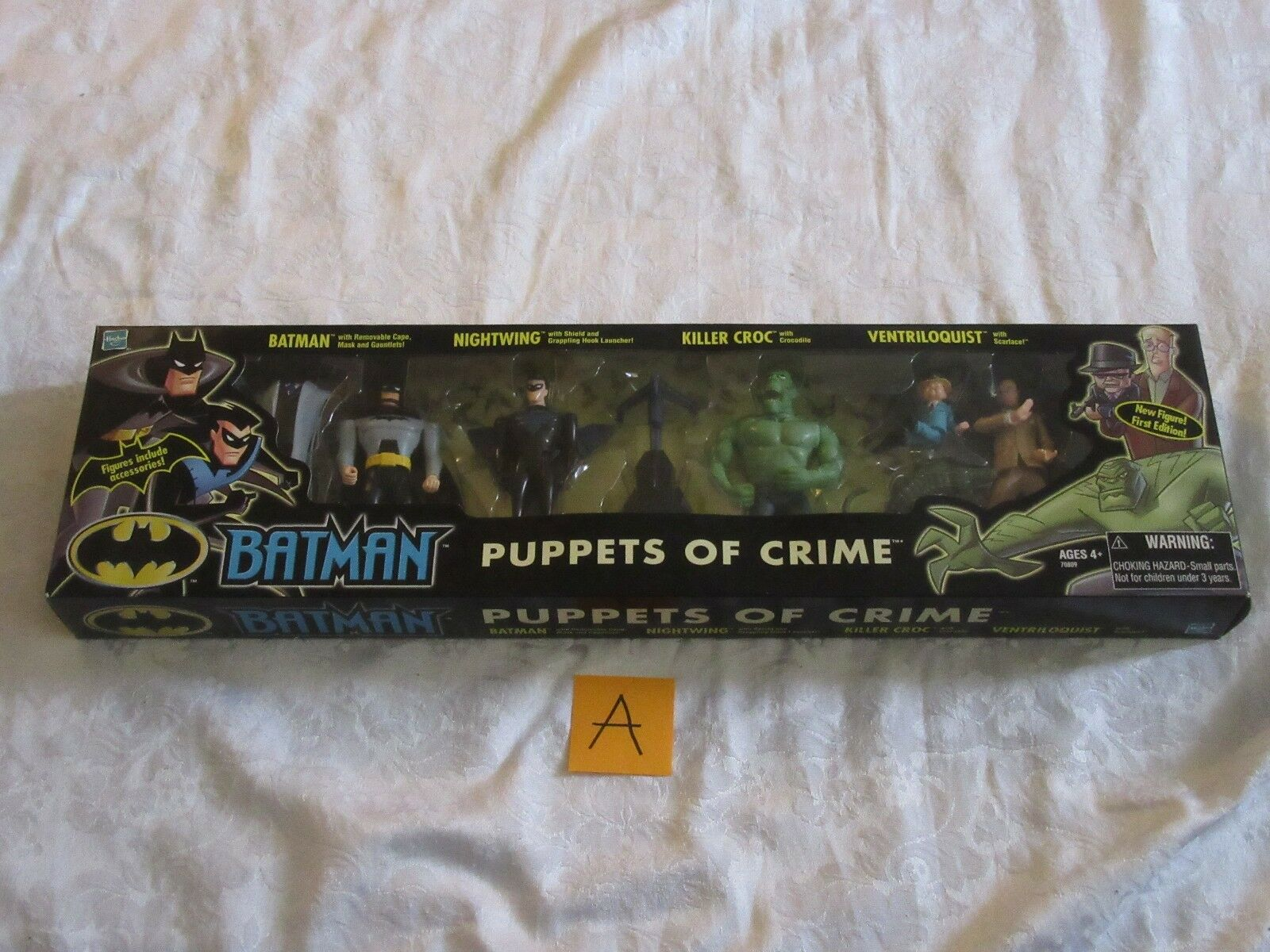 Mattel Batman Animated Puppets of Crime Set Action Figure A