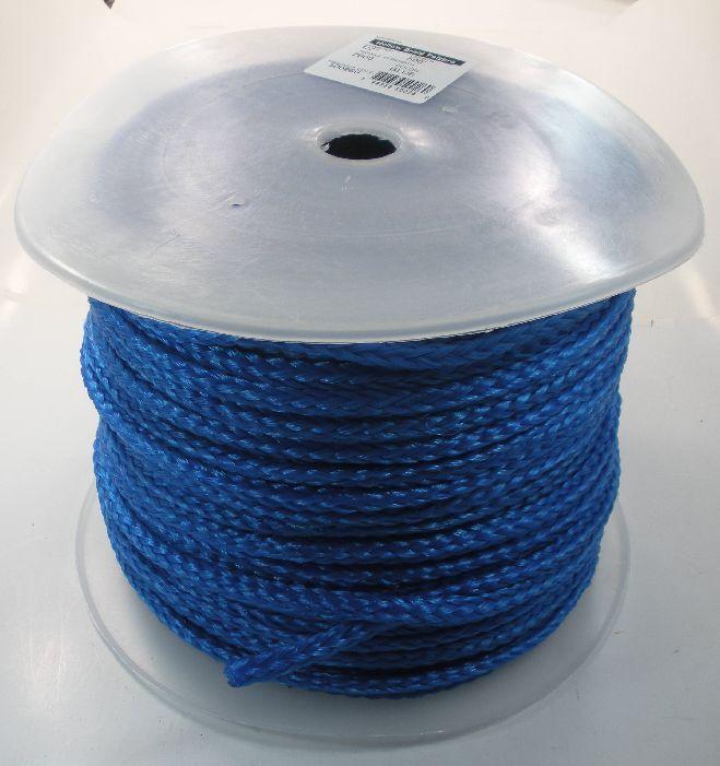Unicord 8 Strand Diamond Braid Mono Polypropylene Rope 1 2  x 500 Ft 16625