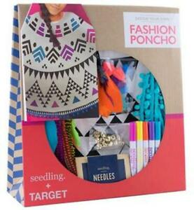 Christmas Gift Seedling Design Your Own Fashion Poncho Kid S Craft Kit 812081023942 Ebay